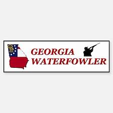Georgia Waterfowler II Bumper Bumper Bumper Sticker