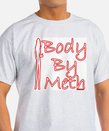 Body By Meth Ash Grey T-Shirt