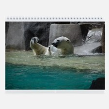 Polar Bears Wall Calendar