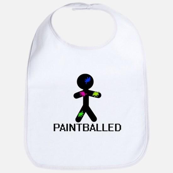 Paint Balled Bib