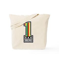 Number One Bolivia Tote Bag
