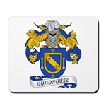 Bohorquez Coat of Arms Mousepad