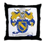 Bohorquez Coat of Arms Throw Pillow