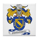 Bohorquez Coat of Arms Tile Coaster