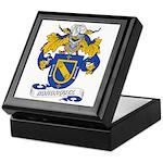 Bohorquez Coat of Arms Keepsake Box