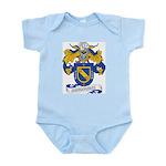 Bohorquez Coat of Arms Infant Creeper