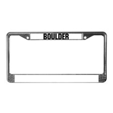 Boulder, Colorado License Plate Frame