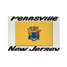 Pennsville New Jersey Rectangle Magnet