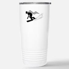 SNOWBOARDING Travel Mug