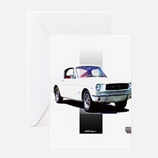 Mustang 1965 Greeting Card