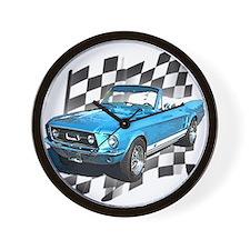 Mustang 1967 Wall Clock