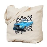 1967 ford mustang Canvas Bags