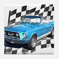 Mustang 1967 Tile Coaster