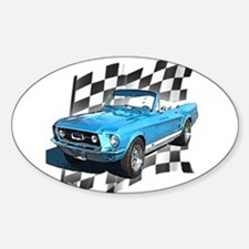 Mustang 1967 Oval Decal