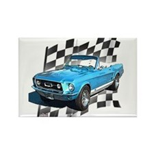 Mustang 1967 Rectangle Magnet