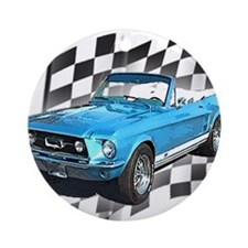 Mustang 1967 Ornament (Round)