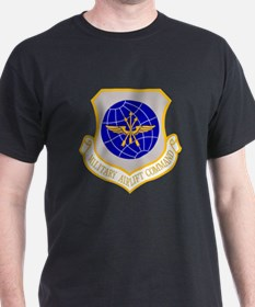 Military Airlift Command Black T-Shirt
