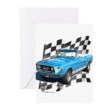 Mustang 1967 Greeting Cards (Pk of 10)