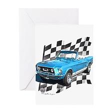 Mustang 1967 Greeting Card