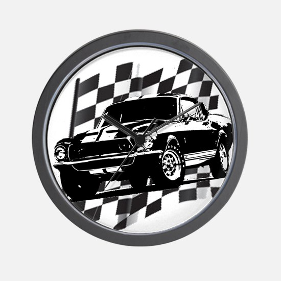 Mustang 1968 Wall Clock