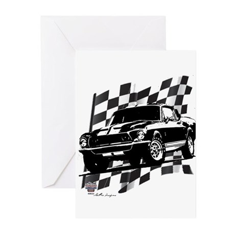 Mustang 1968 Greeting Cards (Pk of 20)