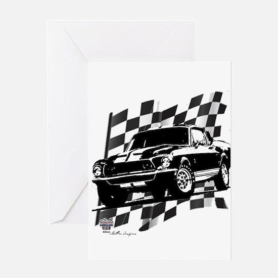 Mustang 1968 Greeting Card