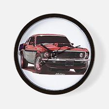 Mustang 1969 Wall Clock