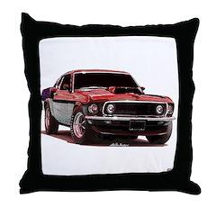 Mustang 1969 Throw Pillow
