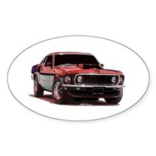 Mustang 1969 Oval Decal
