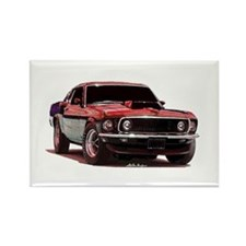 Mustang 1969 Rectangle Magnet