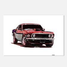 Mustang 1969 Postcards (Package of 8)