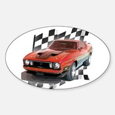 Mustang 1973 Oval Decal