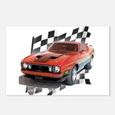 Mustang 1973 Postcards (Package of 8)