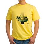 Mustang 1987 - 1993 Yellow T-Shirt