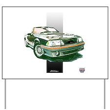 Mustang 1987 - 1993 Yard Sign