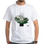 Mustang 1987 - 1993 White T-Shirt