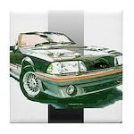 Mustang 1987 - 1993 Tile Coaster