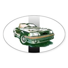 Mustang 1987 - 1993 Oval Decal