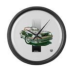 Mustang 1987 - 1993 Large Wall Clock