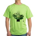 Mustang 1987 - 1993 Green T-Shirt