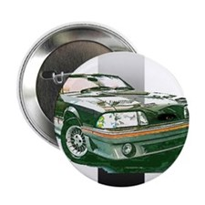 """Mustang 1987 - 1993 2.25"""" Button"""