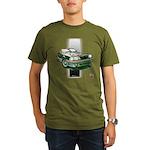 Mustang 1987 - 1993 Organic Men's T-Shirt (dark)