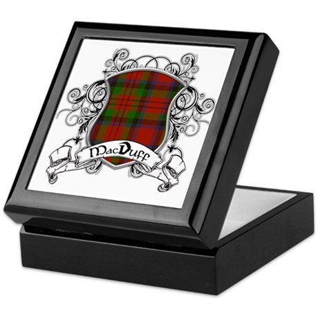 MacDuff Tartan Shield Keepsake Box