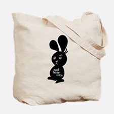 Bad Hare Day tote bag