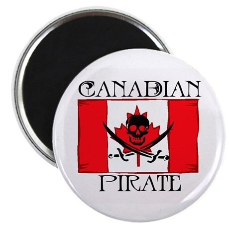 Canadian Pirate Magnet