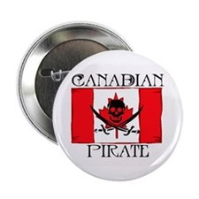 Canadian Pirate Button