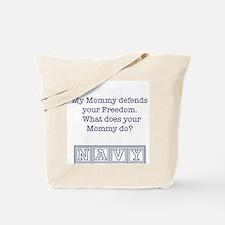 Unique Navy baby Tote Bag