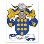Calvillo Coat of Arms Small Poster