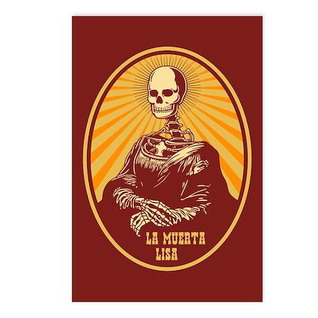 La Muerta Lisa Postcards (Package of 8)