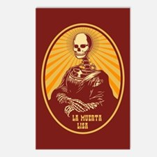 La Muerta Lisa Postcards (Package of 8)